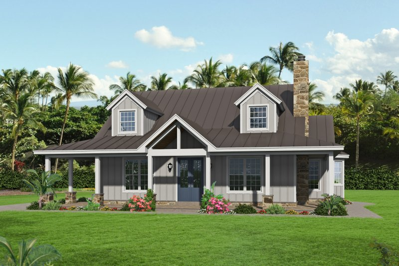 Home Plan - Country Exterior - Front Elevation Plan #932-349