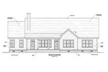 Home Plan - Craftsman Exterior - Rear Elevation Plan #1071-22