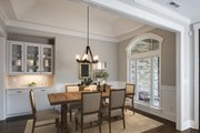 Country Style House Plan - 4 Beds 3 Baths 2445 Sq/Ft Plan #929-873 Interior - Dining Room