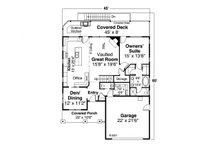Dream House Plan - Craftsman Exterior - Front Elevation Plan #124-1201