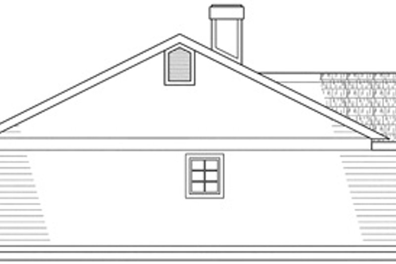 Traditional Exterior - Other Elevation Plan #124-139 - Houseplans.com