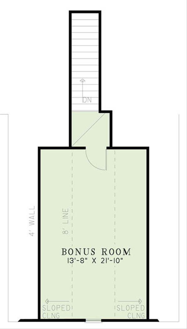 European Floor Plan - Other Floor Plan Plan #17-2508