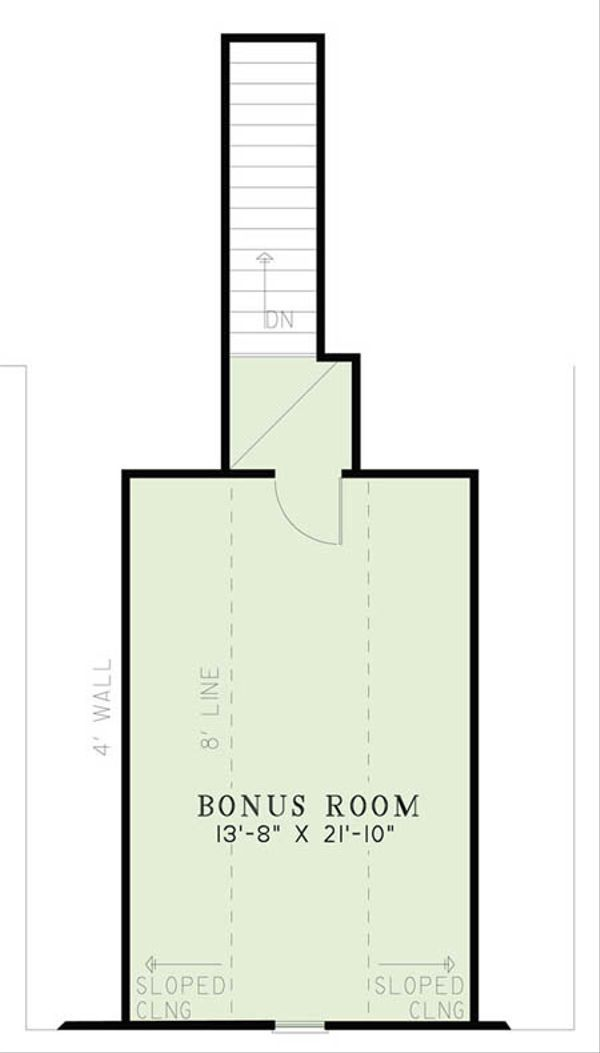 House Plan Design - European Floor Plan - Other Floor Plan #17-2508