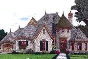 European Style House Plan - 3 Beds 3.5 Baths 2847 Sq/Ft Plan #310-707