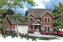 House Design - Craftsman Exterior - Front Elevation Plan #48-213