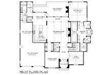 European Floor Plan - Main Floor Plan Plan #413-891