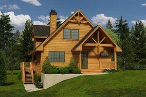 Cottage Exterior - Front Elevation Plan #118-120