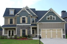 Dream House Plan - Traditional Exterior - Front Elevation Plan #419-200