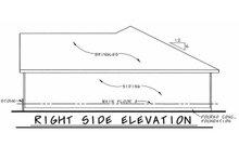House Plan Design - European Exterior - Other Elevation Plan #20-2081