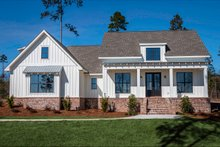 Home Plan - Farmhouse Exterior - Front Elevation Plan #430-164