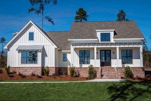 Architectural House Design - Farmhouse Exterior - Front Elevation Plan #430-164