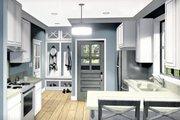 Farmhouse Style House Plan - 2 Beds 1 Baths 890 Sq/Ft Plan #44-222 Interior - Kitchen