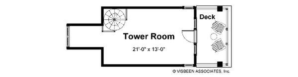 Craftsman Floor Plan - Other Floor Plan #928-7
