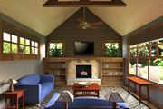 Craftsman Style House Plan - 3 Beds 2 Baths 1857 Sq/Ft Plan #51-518 Interior - Other