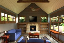 Dream House Plan - Great room photo of Craftsman style home