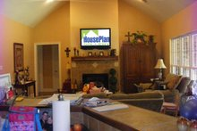 Southern Interior - Family Room Plan #21-176