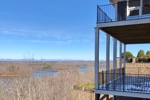 Ranch Exterior - Covered Porch Plan #437-90