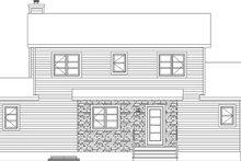 Cottage Exterior - Front Elevation Plan #23-2711