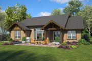 Ranch Style House Plan - 4 Beds 3 Baths 2130 Sq/Ft Plan #48-947