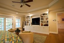 Architectural House Design - Master Bedroom - 3500 square foot Country Home