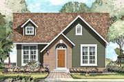 Traditional Style House Plan - 3 Beds 2 Baths 1595 Sq/Ft Plan #424-188 Exterior - Front Elevation