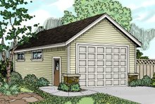 Home Plan - Traditional Exterior - Front Elevation Plan #124-785