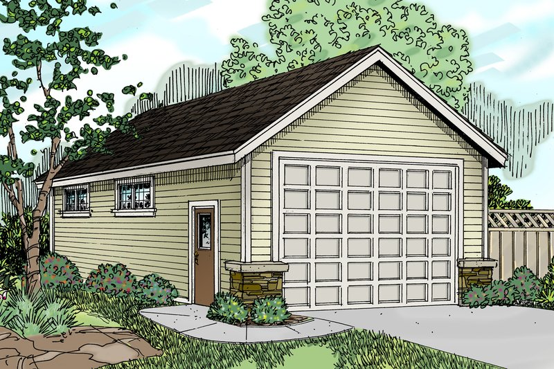 Traditional Exterior - Front Elevation Plan #124-785