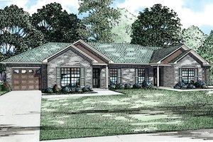 Traditional Exterior - Front Elevation Plan #17-2430