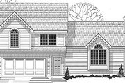 Traditional Style House Plan - 3 Beds 2 Baths 1500 Sq/Ft Plan #67-643 Exterior - Front Elevation