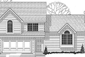 Traditional Exterior - Front Elevation Plan #67-643