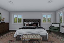 Architectural House Design - Traditional Interior - Master Bedroom Plan #1060-8