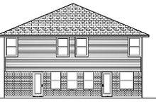 Traditional Exterior - Rear Elevation Plan #84-390