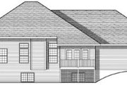 Traditional Style House Plan - 3 Beds 2 Baths 1792 Sq/Ft Plan #70-611 Exterior - Rear Elevation