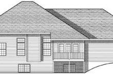 House Plan Design - Traditional Exterior - Rear Elevation Plan #70-611