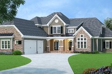 Home Plan - European Exterior - Front Elevation Plan #419-270