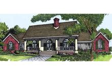 Farmhouse Exterior - Front Elevation Plan #320-405
