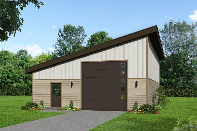 House Plan Design - Contemporary Exterior - Front Elevation Plan #932-255