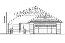 Craftsman Exterior - Other Elevation Plan #124-695