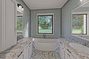 Craftsman Style House Plan - 3 Beds 2 Baths 2096 Sq/Ft Plan #437-101 Interior - Master Bathroom