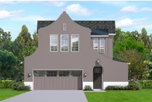 Architectural House Design - European Exterior - Front Elevation Plan #1058-187
