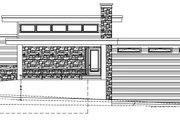 Modern Style House Plan - 3 Beds 2.5 Baths 1850 Sq/Ft Plan #509-17 Exterior - Other Elevation