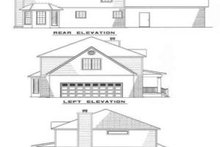 Home Plan - Farmhouse Exterior - Rear Elevation Plan #17-234