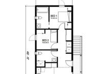 House Blueprint - New Orleans cottage house plan