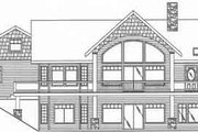 Country Style House Plan - 3 Beds 2.5 Baths 3284 Sq/Ft Plan #117-272 Exterior - Rear Elevation