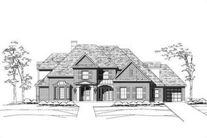 Traditional Exterior - Front Elevation Plan #411-145