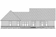 Craftsman Style House Plan - 3 Beds 2.5 Baths 2108 Sq/Ft Plan #21-275 Exterior - Rear Elevation