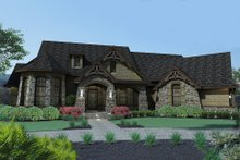 Mountain Lodge craftsman home by David Wiggins 2800 sft