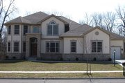 European Style House Plan - 4 Beds 3.5 Baths 2963 Sq/Ft Plan #459-3 Exterior - Front Elevation