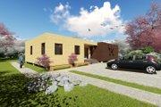 Modern Style House Plan - 4 Beds 2 Baths 1505 Sq/Ft Plan #549-3