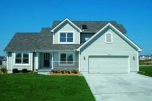 Dream House Plan - Traditional Exterior - Front Elevation Plan #20-491